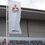 Mitsubishi branded Corporate Flag