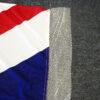 Anti fray union jack flag