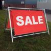 For Sale Banner & Frame