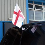 England (St George) Car Flag