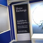 Show homes front of door banner