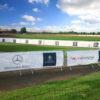 Mercedes printed Fence Banner