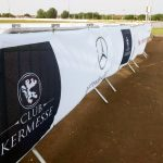 Mercedes Event Railing Fence Panel Banner