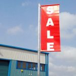 Sale Lamp Post Banner