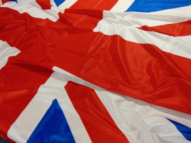 Large union jack flag - crowd flags