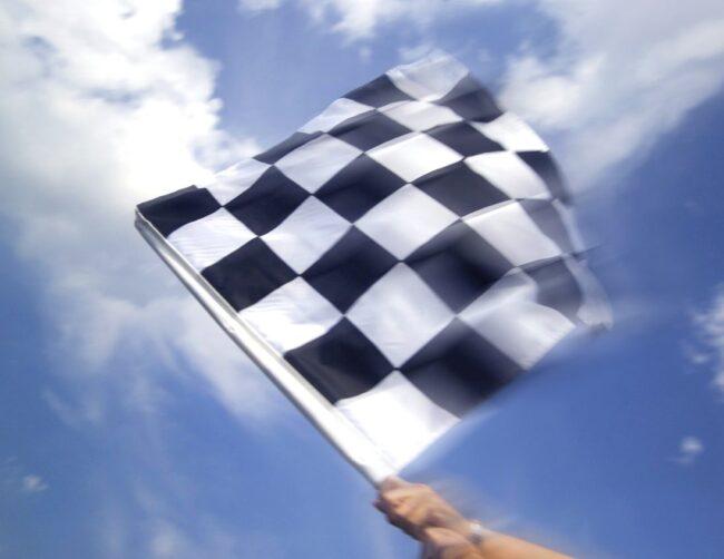 Marshal Checkered Flag