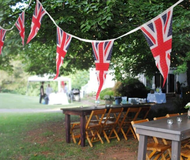 bunting banner - GB Union Jack