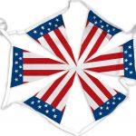 USA Flag Bunting