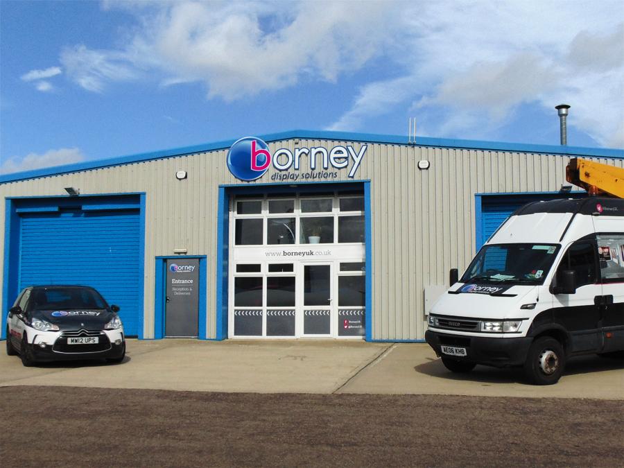 Borney warehouse