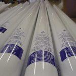 White builders poles
