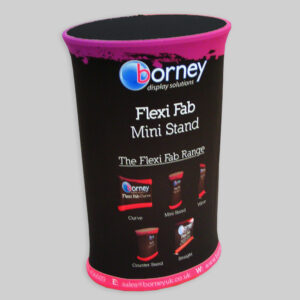 Mini counter fabric tradeshow stand