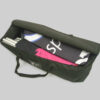Fabric display stand packed in bag