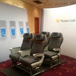 Thomas Cook Flexi Fab Curve exhibition stand