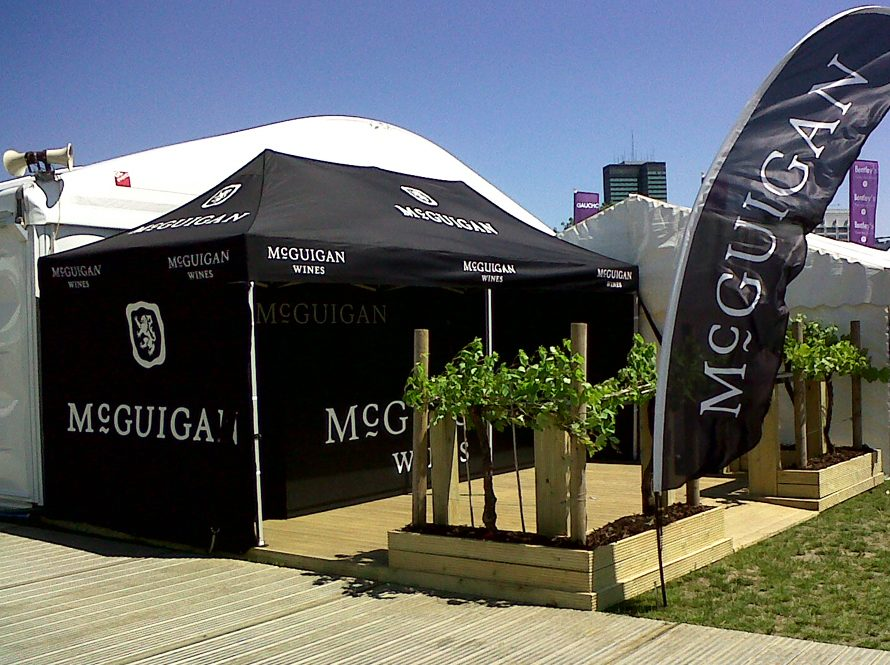 Branded Gazebos Visual Impact With Print Marquees Amp Gazebos