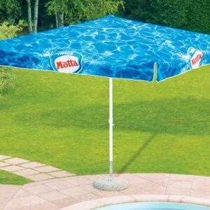 printed parasols - 3x3 branded parasol