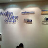 Anglian wall signs and lettering