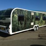Caravan With Forest Graphic