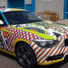 Full Vehicle Wraps - BMW with colourful graphics