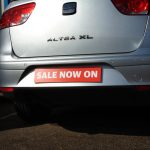Sale on number plate cover