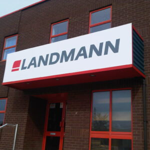 Landmann panel sign - Fascia Signs