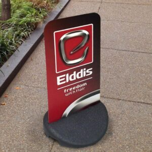 Pavement Signs - Two Sided pavement sign