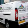 Vinyl Van Graphics - Pinnacle UK - Same Day delivery van