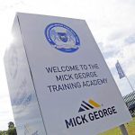 Peterborough United training ground panel sign
