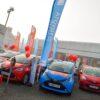 ultimate flagpoles - car showroom