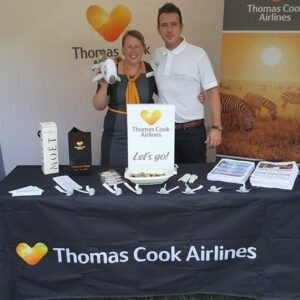 custom printed tablecloths - Brand Tablecloth, Thomas Cook