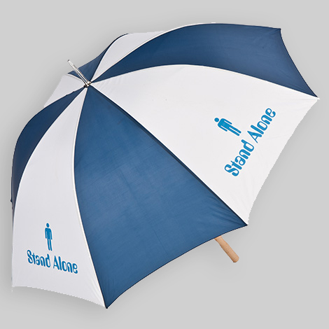 Promotional umbrellas - umbrella with a logo design