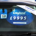 Price Visors - Croyland branded Vehicle pricing unit