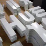 Foamex board printing - foamex letters