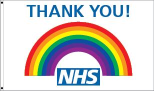 Thankyou NHS Flag